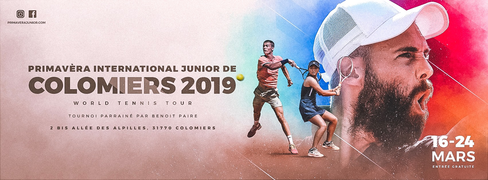 tennis primavera itf junior open colomiers france